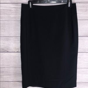 Ann Taylor - Black Pencil Skirt - EUC - Size 6